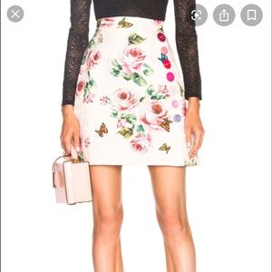 Authentic DOLCE & GABBANA Floral Brocade Skirt